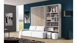 lit escamotable canapé lit escamotable canapé bilbiothèque un ensemble moderne que