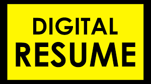 Digital Resume Digital Video Resume Karan Kapoor Youtube
