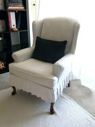 Slipcover For Wingback Chair Design Ideas Wing Back Chair Covers Wingback Chair Slipcover Uk 8libre