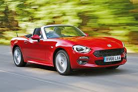 fiat roadster fiat 124 spider review 2017 autocar