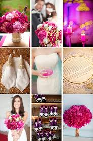 purple and orange wedding ideas gold and magenta wedding inspiration ωεddίηg ϲοℓουя раℓεттεѕ