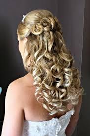 bridesmaid hairstyles for medium length hair wedding hairstyles half up half down wedding party decoration