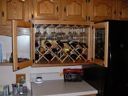 Kitchen Wine Cabinet Wine Rack Cabinet How To Make A Cheap Wine Cabinet At Home