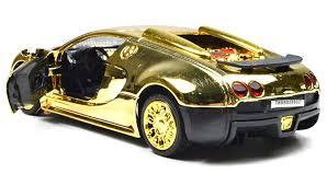 bugatti veyron gold amazon com nuoya001 new style 1 36 bugatti veyron diecast car