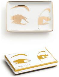 eyelashes trinket tray chez elle collection rosanna home
