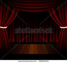 Theater Lighting Stage Lighting Background Spotlight Effects Stock Illustration