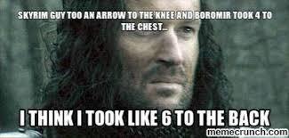 Boromir Memes - boromir arrow memes