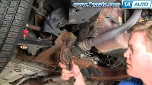 2005 Chevrolet Cavalier Engine Diagram How To Install Replace Lower Engine Mount Isolator Cavalier