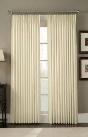 diy living room curtains for big windows with white stained walls
