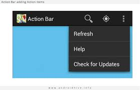 android toolbar tutorial android working with bar tutorial