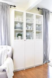 our affordable ikea hacked repurposed china cabinet u2013 almafied com