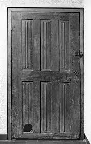 door with cat hole the walters art museum works of art