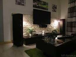 Hifi Wohnzimmer Design 14 Jenseits Des Glaubens Steinwand Wohnzimmer Auf Moderne Deko