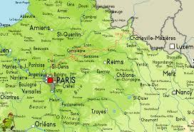 Map Of Paris France Gr12 Amsterdam Paris