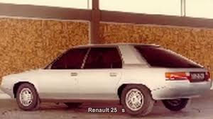 renault 25 gtx 1563 renault 25 s prototype car youtube