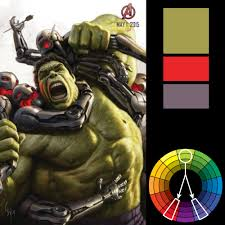 color harmony why hulk wears purple pants zevendesign