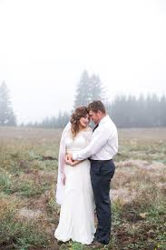 gorgeous christmas tree farm wedding editorial in portland