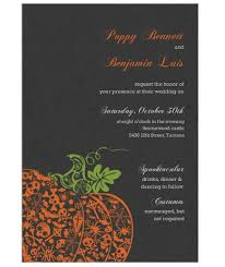 halloween wedding invitations your guests will love real simple