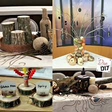 make these rustic diy thanksgiving table decorations of diy
