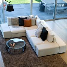 double sided sofa leather sectional sofa