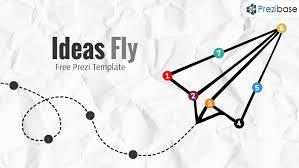 free paper airplane ideas that fly prezi template prezi