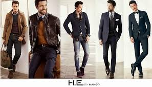 tendencias en ropa para hombre otono invierno 2014 2015 camisa denim moda ropa