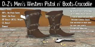s boots cowboy second marketplace d z s mens pistol n boots