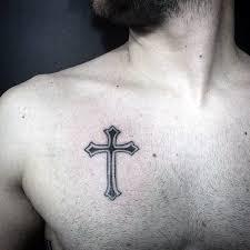35 simple cross tattoos golfian com