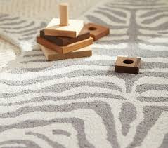 Pottery Barn Rugs Kids Zebra Shaped Rug Gray Pottery Barn Kids