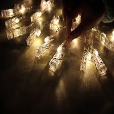 10 mini light string 1m 10 led card photo clip string lights christmas happy new year