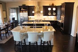 kitchens with 2 islands kitchens island granite countertops espresso pertaining to kitchen