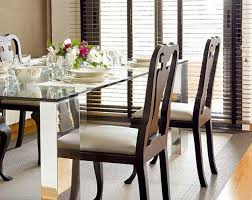 Glass Top Tables Magnifying Beautiful Dining Room Design - Glass for kitchen table