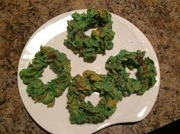 12 days of cookies day 6 corn flake wreaths times leader