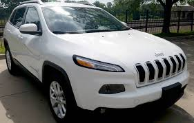 jeep cherokee sport white 2014 jeep cherokee latitude 32k bright white clear coat