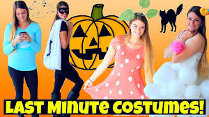 cheap creative halloween costume ideas diy last minute cheap u0026 easy halloween costumes youtube