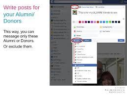 alumni database software how to build an online database alumni parents for school fundraisi