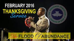 pastor e a adeboye sermon february 2016 thanksgiving service