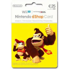 nintendo gift card nintendo eshop card 25 eur germany account digital