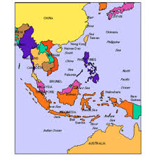 asia map and countries australia powerpoint map administrative districts capitals