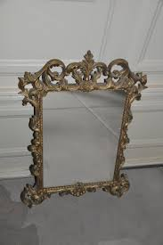 shabby chic mirror how to create an antique look using paint and