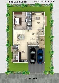 villa floor plan myans villas type a east facing villas