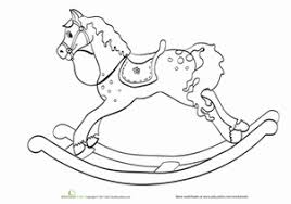coloring sheets of a horse baby horse worksheet education com