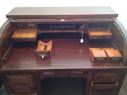 Secretary Desk For Sale by 1940 U0027s Standard Mahogany Roll Top Desk For Sale Antiques Com