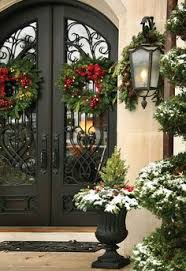 Decorate Outside Entryway Christmas by 46 Beautiful Christmas Porch Decorating Ideas Christmas Porch