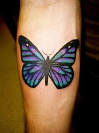 purple monarch butterfly tattoo pictures to pin on pinterest