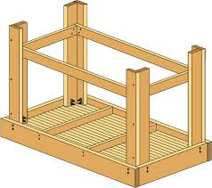 Plans For Making A Wooden Workbench by How To Build A Workbench Easy Diy Plans