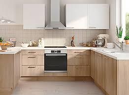 but meuble cuisine cuisine quip e en kit avec meuble lectrom nager vier et meubles de