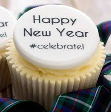 New Years Cupcake Decorations by New Year Cupcake Decorations By Just Bake Notonthehighstreet Com