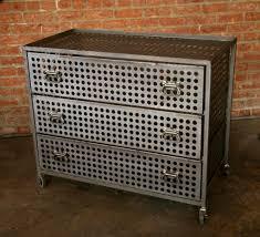 Metal Bedroom Dresser Industrial Metal Cabinets And Bookshelves Hudson Goods
