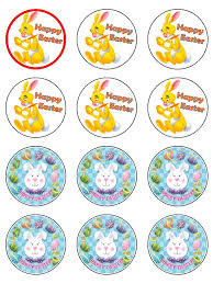 Easter Cupcake Decorations Uk by Easter Bunny Cupcake Toppers X 12 D76